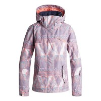 Roxy Jetty Girls Jkt (Grey Mosaic - SKG1)